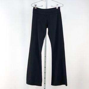 Lululemon Athletica Black Wide Leg Athletic Pants